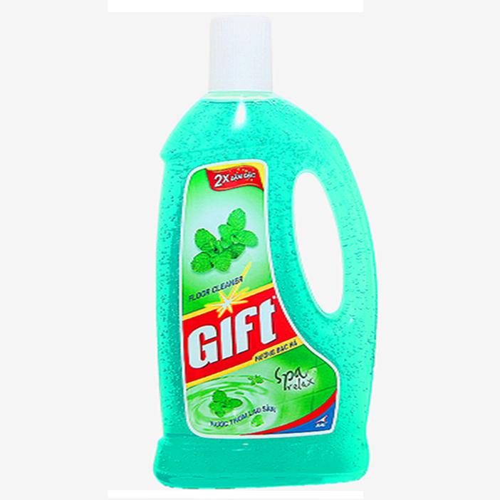 Nước lau sàn Gift (Hương Bạc Hà - 1kg)