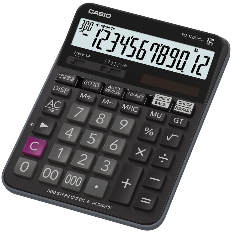 Máy tính Casio DJ-120 Plus