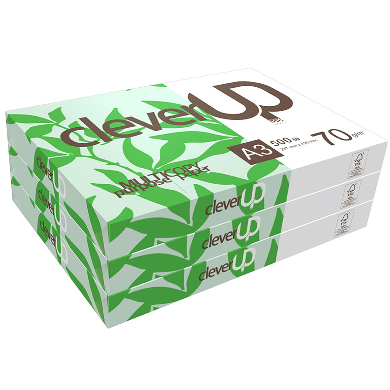 Giấy A3 Clever Up - 70GSM