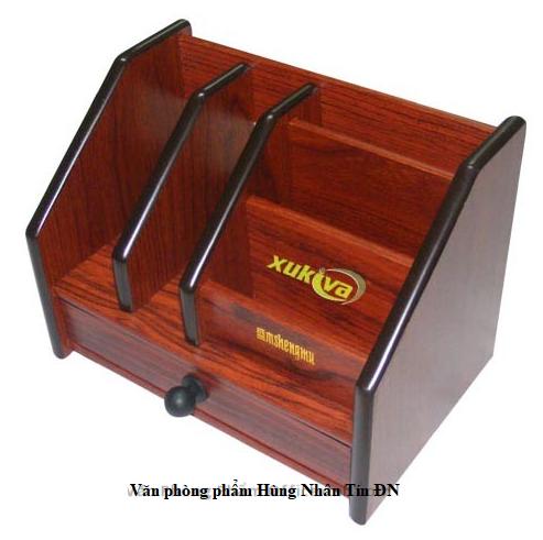 Hộp cắm bút gỗ để bàn SM-806