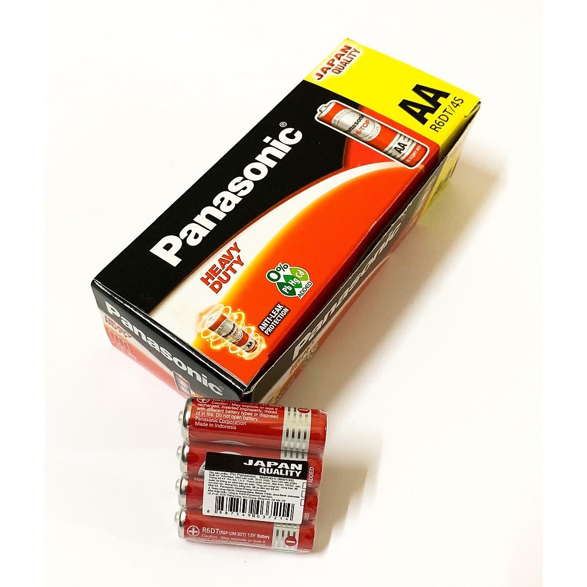 Pin AA Panasonic Hitop R6DT/4S