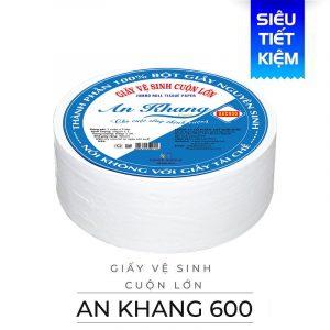 Giấy vệ cuộn lớn An Khang Caro600 (AKC600)